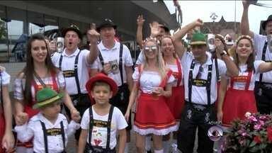 Feriadão deve movimentar a Oktoberfest de Blumenau neste final de semana - Feriadão deve movimentar a Oktoberfest de Blumenau neste final de semana