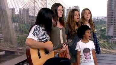 Grupo Pequeno Cidadão se apresenta para crianças no Ibirapuera - As meninas do Pequeno Cidadão vai se apresentar de graça, no domingo (11), no Parque do Ibirapuera. O grupo é formado por crianças que cantam para crianças.