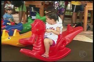 'Integração Criança' é realizado em Ituiutaba - Evento aconteceu na manhã deste sábado (10). Mais de mil crianças participaram do evento.