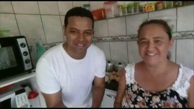 Dupla de Brazlândia procura os melhores preços para as compras - Fabiano Bomfim e Suzana Moreira vão tentar descobrir se Brazlândia tem os preços mais baixos do DF. Eles terão que fazer muita pechincha para conseguir poupar bastante nas compras de frutas e verduras.