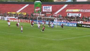 Cleverson marca o gol do Brasil-Pel contra o Fortaleza - Assista ao vídeo.