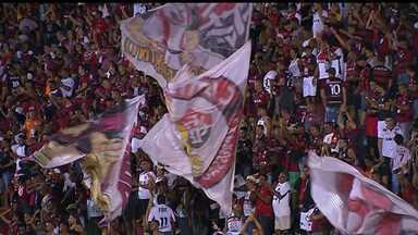 Vitória vence o Boa Esporte e está cada vez mais próximo da série A - Placar da partida foi 2 a 1.