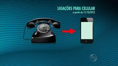 Números de telefone celular de Sergipe vão ganhar mais um dígito - Números de telefone celular de Sergipe vão ganhar mais um dígito. Veja então como ficam as chamadas pra celular com essa mudança.