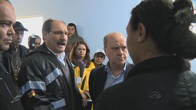 José Ivo Sartori visita áreas atingidas por enchentes em Santa Maria, no RS - Município de Itaara, no RS, decretou situação de emergência por causa da chuva dos últimos dias.