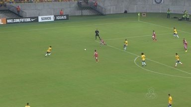 Seleção Sub-23 goleia República Dominicana na Arena da Amazônia - Times duelaram em amistoso na sexta-feira