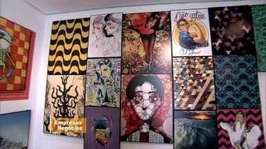 Designer de SP leva arte urbana para galeria - As obras coloridas e cheias de estilo agora podem ser levadas para a casa.