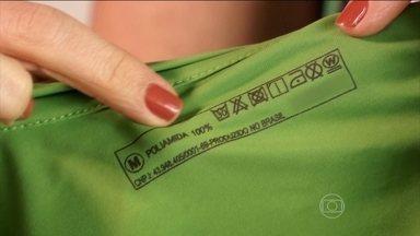 Tecido sintético seca mais rápido do que o algodão - Para a prática de exercícios, é recomendado o uso de roupas de poliamida.