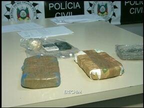 Homem é preso com mochila com droga e celulares - Ele era preso do semiaberto e tinha acabado de sair do presídio.