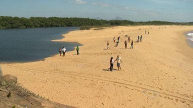 Vazão do Rio Jucu, no ES, está quase no limite crítico e gera preocupação - Rio Santa Maria da Vitória, que abastece a capital, está abaixo do limite.15 municípios do estado passam por racionamento de água.