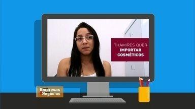 Internauta quer saber se vale a pena vender cosméticos pela internet - Ela pretende abrir uma loja virtual para revender produtos importados. A dúvida principal é sobre cobranças de frete e as taxas dos impostos em cima dos produtos importados.
