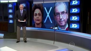 Dilma Rousseff e Eduardo Cunha batem boca sobre corrupção - Em três dias, os dois trocaram farpas durante declarações públicas. Uma das razões é a apresentação de provas contra Eduardo Cunha, presidente da Câmara.