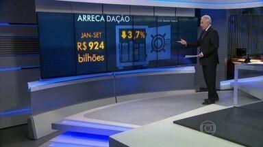 Brasil tem buraco nas contas públicas e arrecada cada vez menos - Para um governo, como o brasileiro, enterrado em um buraco nas contas públicas, arrecadar mais é fundamental. E a arrecadação vem caindo, causando enorme preocupação e bagunçando a cada mês os cálculos do tamanho do buraco.