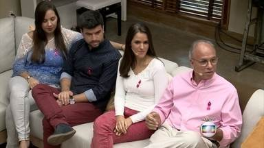 Joaquim da Paz venceu o câncer com apoio da família e tratamento médico - Convidado revela que faz trabalho voluntário na área de quimioterapia no hospital