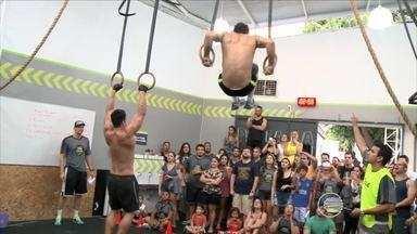 Competição de Crossfit leva atletas piauienses ao limite - Competição de Crossfit leva atletas piauienses ao limite
