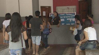 Mais de 55 mil estudantes participam do Enem no Amapá - Este domingo foi o fim da aplicação das provas do Enem no Amapá. Mais de 55 mil candidatos participaram do processo. Muitos precisaram percorrer longas distâncias até o local da prova.