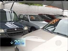 Vendas de carros seminovos caem na Região dos Lagos do Rio - Silva Jardim, Rio Bonito, Maricá e Cabo Frio tiveram as maiores baixas.
