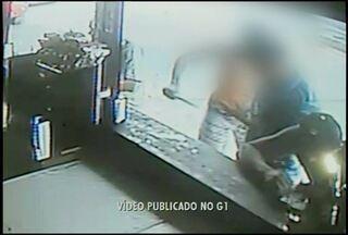 Homem que esfaqueou jovem de 21 anos em Areal, RJ, é transferido para o Rio de Janeiro - Vídeo flagrou momento da agressão.