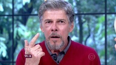 José Mayer explica que se machucou em cena; entenda! - Ele estrela o espetáculo 'Kiss Me, Kate – O Beijo da Megera'