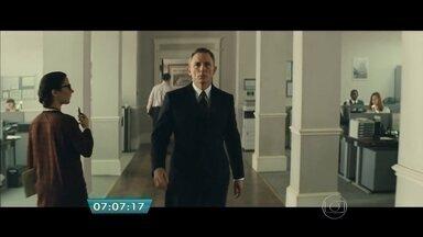 '007 contra Spectre' estreia nos cinemas da capital - A nova sequência de 007 é um dos filmes mais aguardados do ano. Pela quarta vez Daniel Craig interpreta o agente secreto mais famoso do mundo.