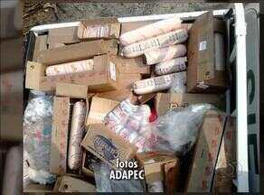 Adapec apreendeu cerca de 700kg de produtos irregulares em Tocantinópolis - Adapec apreendeu cerca de 700kg de produtos irregulares em Tocantinópolis