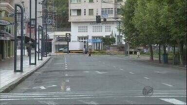 Ação 'Rua Viva' fecha o trânsito em ruas de Poços de Caldas (MG) - Ação 'Rua Viva' fecha o trânsito em ruas de Poços de Caldas (MG)