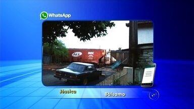 Trem para e impede passagem de moradores em bairro de Bálsamo - Um trem parou e fechou o principal acesso a um dos bairros de Bálsamo (SP) no início da manhã desta quinta-feira (5). De acordo com os moradores do bairro Jardim Cristina, quem precisava chegar cedo ao trabalho se atrasou.