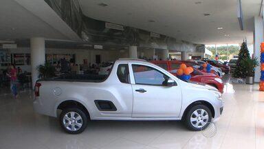 Caixa Econômica Federal realiza feirão para compra de carros - O Salão Auto segue até este sábado (7).