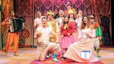 Neste fim de semana tem teatro infantil em São José - Atores têm síndrome de down.