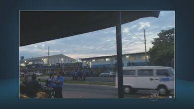 Transporte coletivo para em Sumaré e Americana - Nenhum ônibus saiu da garagem nesta segunda-feira nestas duas cidades.