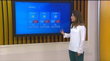 Confira a previsão do tempo para segunda-feira (9) em todo o Paraná - Veja como deve ficar o tempo neste início da semana em todo o estado.