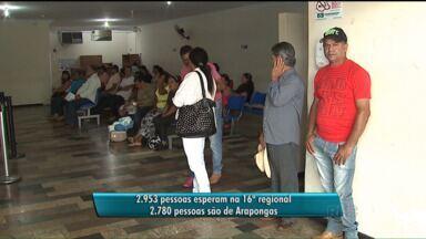 Secretaria Municipal da Saúde faz mutirão da saúde em Apucarana - O objetivo é de que até o fim de dezembro sejam realizadas 1.125 cirurgias.