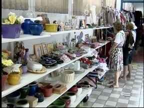 Bazar beneficente é realizado em Pres. Prudente - Associação de Apoio ao Portador de Câncer é a realizadora.