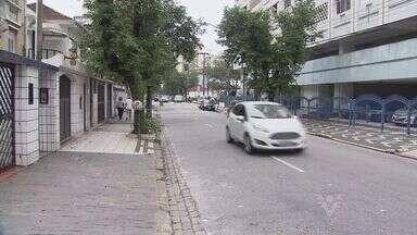 Mais um importante corredor de trânsito de Santos está com restrição - Rua Euclides da Cunha, do Canal 1 ao Gonzaga, receberá restrições. Motoristas se preocupam onde parar o carro, principalmente quando chegar a época das comprs do natal.