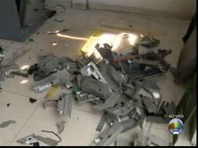 Bandidos explodem caixa eletrônico de Estrela do Norte - Agência do Bradesco informou que não haverá atendimento nesta terça (10).