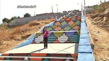 Meu Bairro na TV volta ao Morro Santa Terezinha para mostrar as escadarias da comunidade - Confira a reportagem de Wânyffer Monteiro.