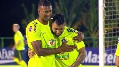 Seleção olímpica está no Recife e faz amistoso nesta quarta na Ilha do Retiro - Seleção olímpica está no Recife e faz amistoso nesta quarta na Ilha do Retiro