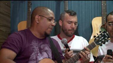 Músicos teresinenses gravam versão do hino do River-PI em rock - Músicos teresinenses gravam versão do hino do River-PI em rock