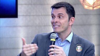 Consultor financeiro Gustavo Cerbasi diz que pessoa deve se organizar - Ator Ricardo Pereira revela que é controlado em seus gastos
