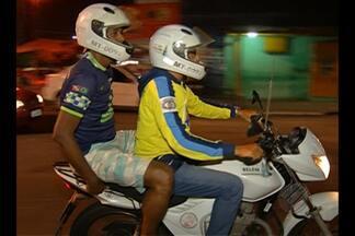 Com medo de assaltos, motociclistas evitam circular em bairros de Belém durante a noite - Eles temem ser vítimas do crime de latrocínio, que é o roubo seguido de morte. Esta semana, um vigilante foi morto no bairro do Marco.