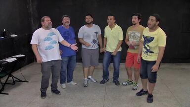 """Grupo """"Alma de Gato"""" faz show para comemorar 11 anos de sucesso - Grupo """"Alma de Gato"""" faz show para comemorar 11 anos de sucesso"""