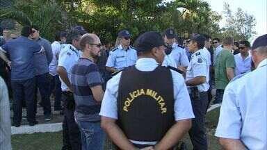 Corpo do policial militar morto em assalto em Fortaleza é velado - Walterberg Chaves tentou defender a mulher no assalto.