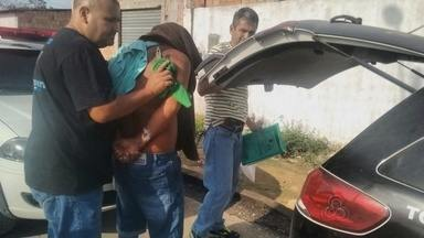 Suspeito de matar e esquartejar homem é preso no AM - Pedaços do corpo foram encontrados em terreno.