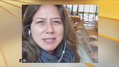 Repórter da GloboNews comenta os momentos de tensão durante o tiroteio - Ela chegou ao estádio de futebol minutos antes do começo da partida. Nos primeiros vinte minutos de jogo, ouviram as explosões.