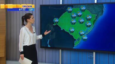 Tempo: quinta-feira (19) será mais um dia de alerta para temporais no RS - O dia já deve começar com instabilidade em todas as regiões.