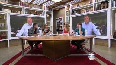 Rodrigo Bocardi conversa com os apresentadores e atualiza sobre os assuntos da semana - Apresentadores também debatem sobre os ataques terroristas