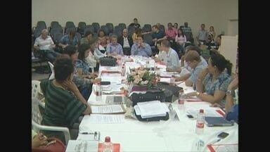 Reunião discutiu situação da saúde no município de Vilhena - Secretários de 52 municípios participaram do debate.