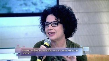 Convidados debatem sobre recrutamento de jovens pelo Estado Islâmico - Psicóloga Viviane Mosé tenta desvendar o que leva jovens a se aliar a grupos terroristas