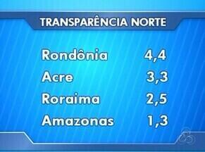 Estados do Norte têm piores índices de transparência do país - Levantamento é da Controladoria Geral da União