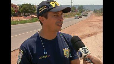 PRF vai reforçar a segurança na BR-163 para a Caminhada de Fé com Maria - Fiscalização na BR-163 começa a partir do meio dia de sábado. Caminhada será de Mojuí dos Campos a Santarém.
