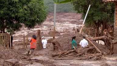 Moradores voltam a Bento Rodrigues para tentar recuperar pertences - Retorno ocorre 20 dias após o rompimento da barragem que devastou o distrito.